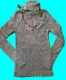 子供服 タートルネック ネックレス イヤリングの3点セット