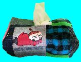 子供服 ◆◆◆MA★ムーミン リトルミイ★パッチワーク ティッシュボックス その1