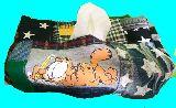 子供服 ◆◆◆88MTA★ガーフィールド♪★パッチワーク ティッシュボックス その3