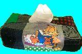 子供服 ◆◆◆A88M★★ガーフィールド♪★パッチワーク ティッシュボックス その5