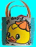 子供服 ◆◆◆88MTFA★500mlのペットボトルもスッポリ♪★保冷できるランチバッグ★ヒヨコ