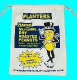 子供服 ◆◆◆88ARF★大判巾着 ミスターピーナッツ ピーナッツプランターズ シューズケースにも