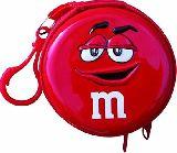 子供服 ◆◆◆ジッパー付き 缶ケース●エムアンドエムズ ティン缶ケース 赤