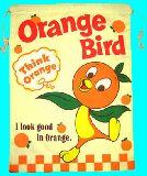 子供服 ◆◆◆88ARF★大判巾着 オレンジバード シューズケースにも