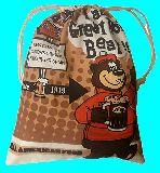 子供服 ◆◆◆88ARF★大判巾着 ファストフードチェーン店「A&W」のキャラクター:グレートルートベア