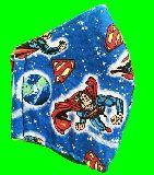 子供服 ◆◆◆88FM★大人用マスク★スーパーマン M・Lサイズ