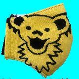 子供服 ◆◆◆88FM★大人用マスク★ デッドベア Mサイズ 黄色
