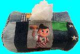 子供服 ◆88MA★ビッグボーイ★パッチワーク ティッシュボックス