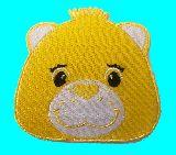 子供服 ◆◆◆RF88A★ケアベア♪アイロンワッペン お顔