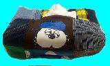 子供服 ◆◆◆AM★★スヌーピー「オラフ」★パッチワーク ティッシュボックス