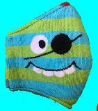 子供服 ◆◆◆FRM★大人用マスク★モンスター 眼帯 Mサイズ