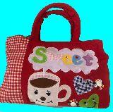 子供服 ◆◆◆RF88A★★マグカップ:ショルダー紐付き バッグ ランチバッグや通園バッグにも