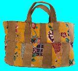子供服 ◆◆◆88AMRF  パッチワーク 着物リメイク バッグ