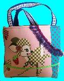 子供服 ◆◆★500mlのペットボトルもスッポリ♪★保冷できるランチバッグ★レトロバンビちゃん